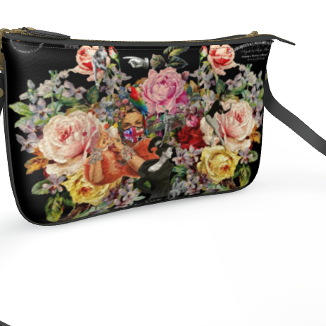 Nuit des Roses 2020 Leather Pochette
