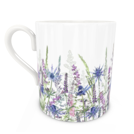 Large Bone China Mug - Fairytale Meadow