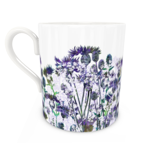 Large Bone China Mug - Heavenly Hedgerow