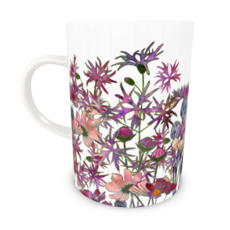 Tall Bone China Mug - Wild At Heart