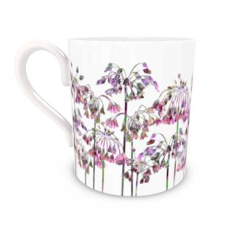 Regular Bone China Mug - Allium Bells