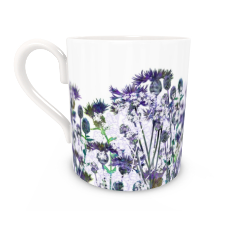Regular Bone China Mug - Heavenly Hedgerow