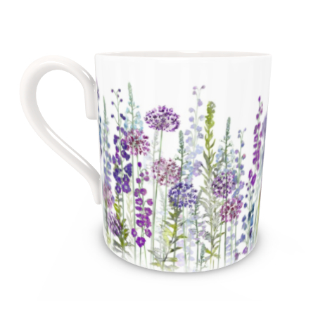 Regular Bone China Mug - Purple Rapture