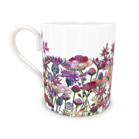 Regular Bone China Mug - Wild At Heart