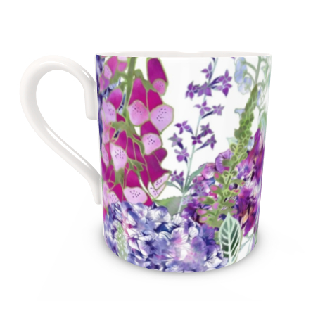 Regular Bone China Mug - Summer Rhapsody