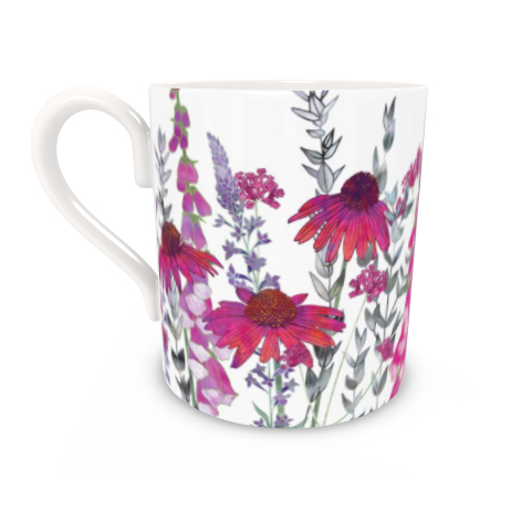 Regular Bone China Mug - Pink Paradise