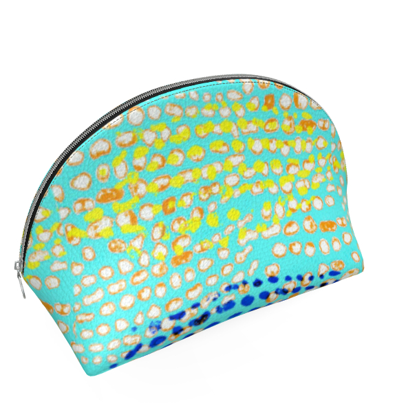 Textural Collection multicolored Shell Coin Purse