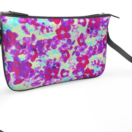 Pochette Double Zip Bag Spring Flowers