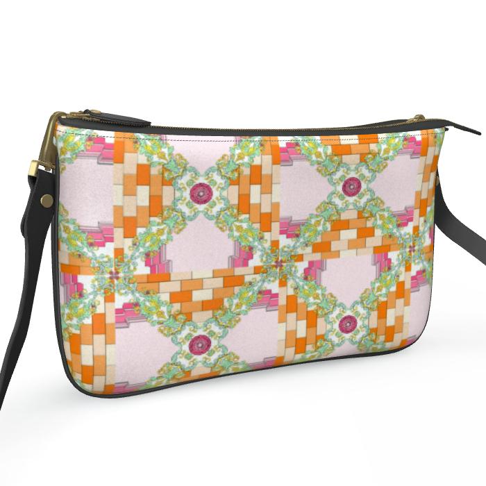 Roads Of Barcelona - Orink - Double Zip Bag