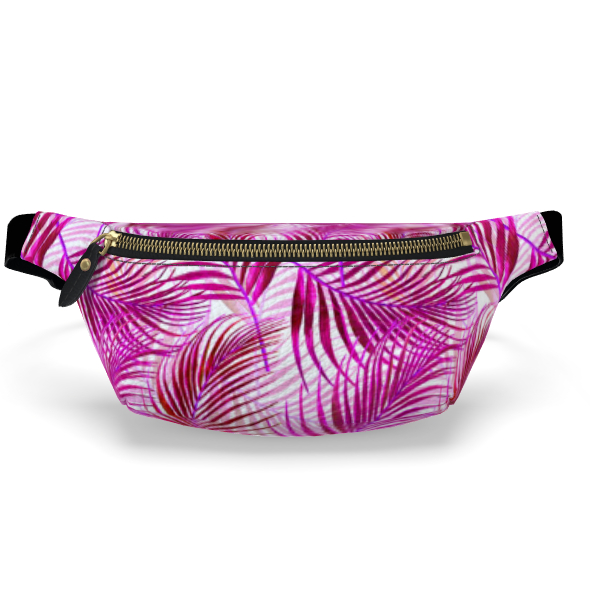 Tropical Garden Collection in Magenta Fanny Pack