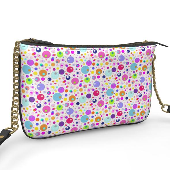 Atomic Collection Pochette Double Zip Bag