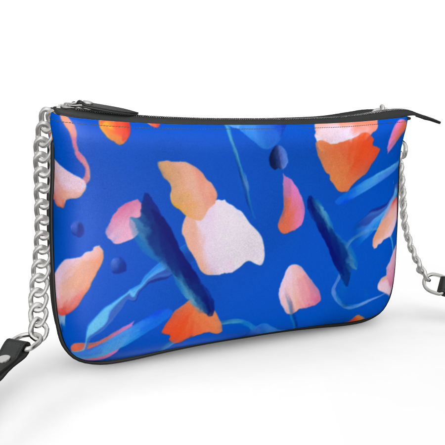 Pochette Double Zip Bag - Abstract