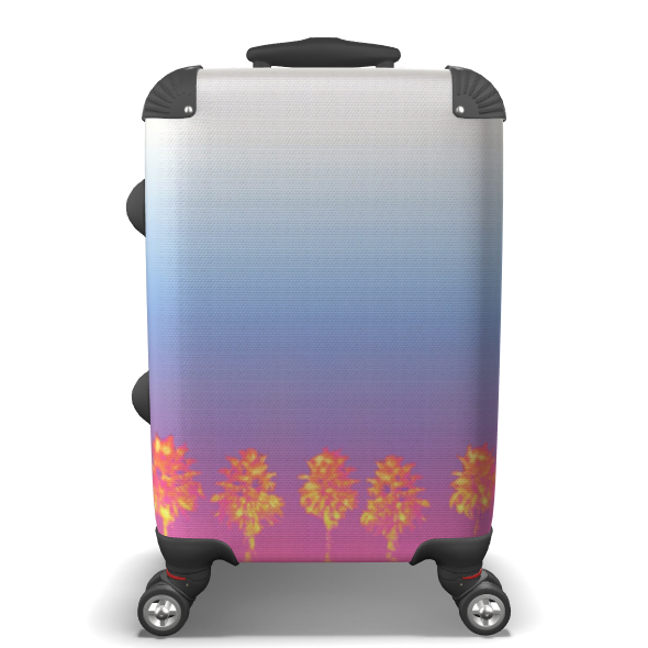 Palm Trees Collection Suitcase