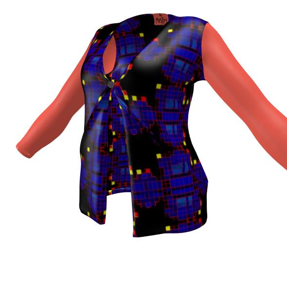 Pelari Design Ladies Cardigan With Pockets BIONIC