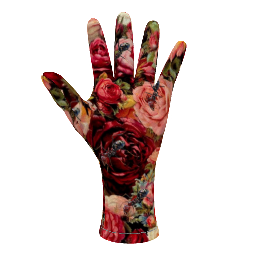 Fleece Gloves Ants n Roses