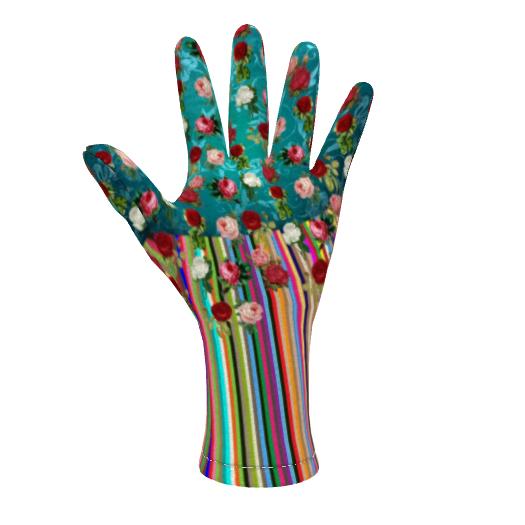 Fleece Gloves Hello