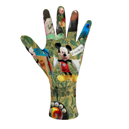 Fleece Gloves My Childhood, Your Childhood