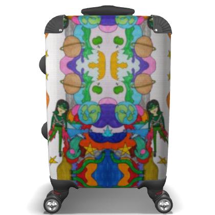 Pop Colourfull Elisavet in Space Suitcase