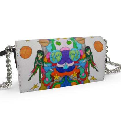 Pop Colourfull Elisavet in Space Oana Evening Bag