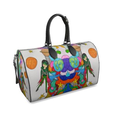 Pop Colourfull Elisavet in Space Duffle Bag