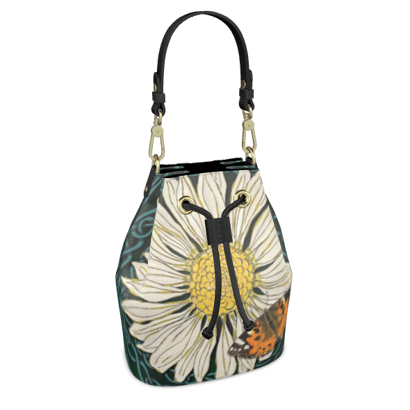 Daisy and Butterfly Bucket Bag