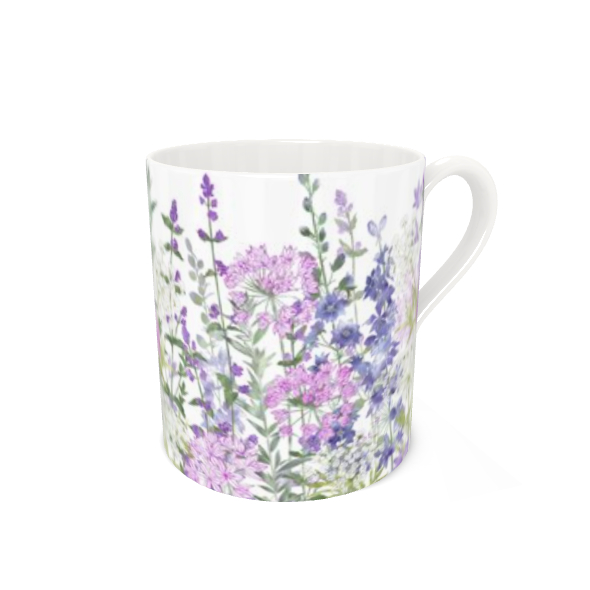 Bone China Mug - Floral Symphony
