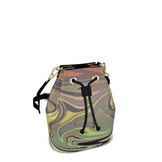 Bucket Bag - Marble Rainbow 1