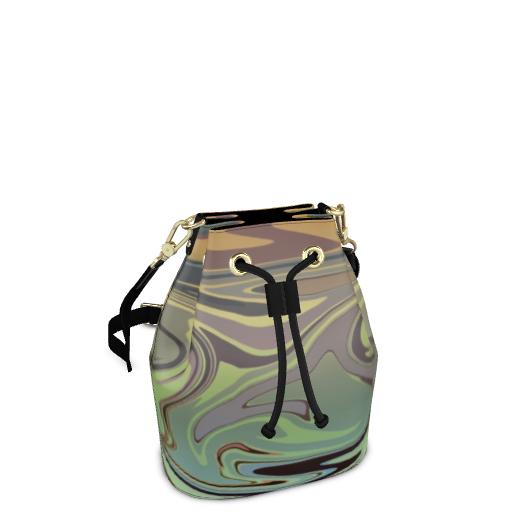 Bucket Bag - Marble Rainbow 2