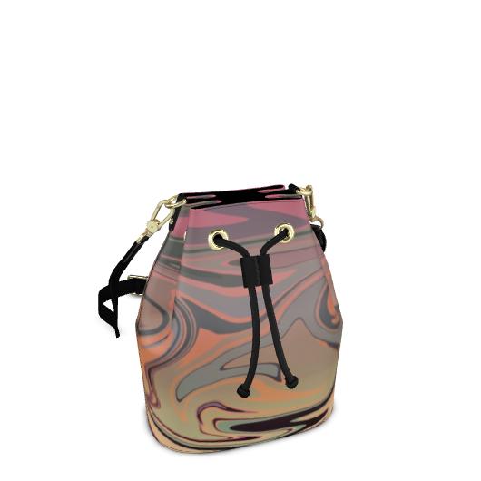 Bucket Bag - Marble Rainbow 3