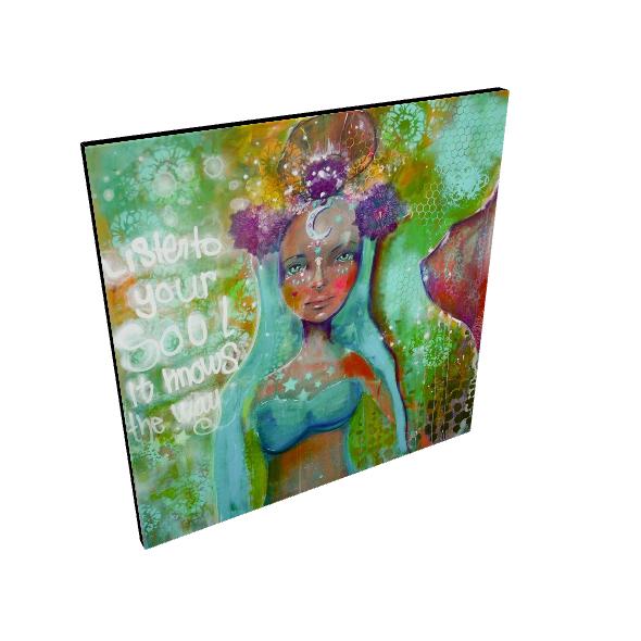 Mermaid Canvas Prints