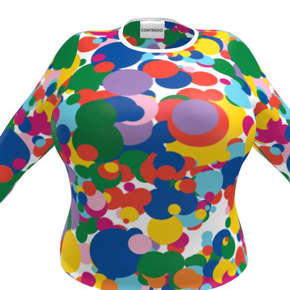 Ladies T-Shirt - Dot Blame Me