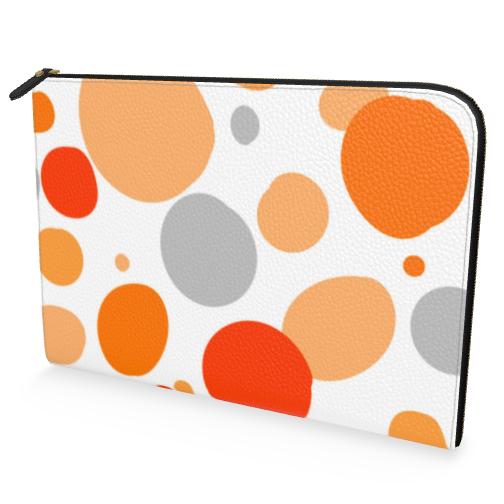 Orange Joy - Document Case - abstract bright spots cheerful gift sunny
