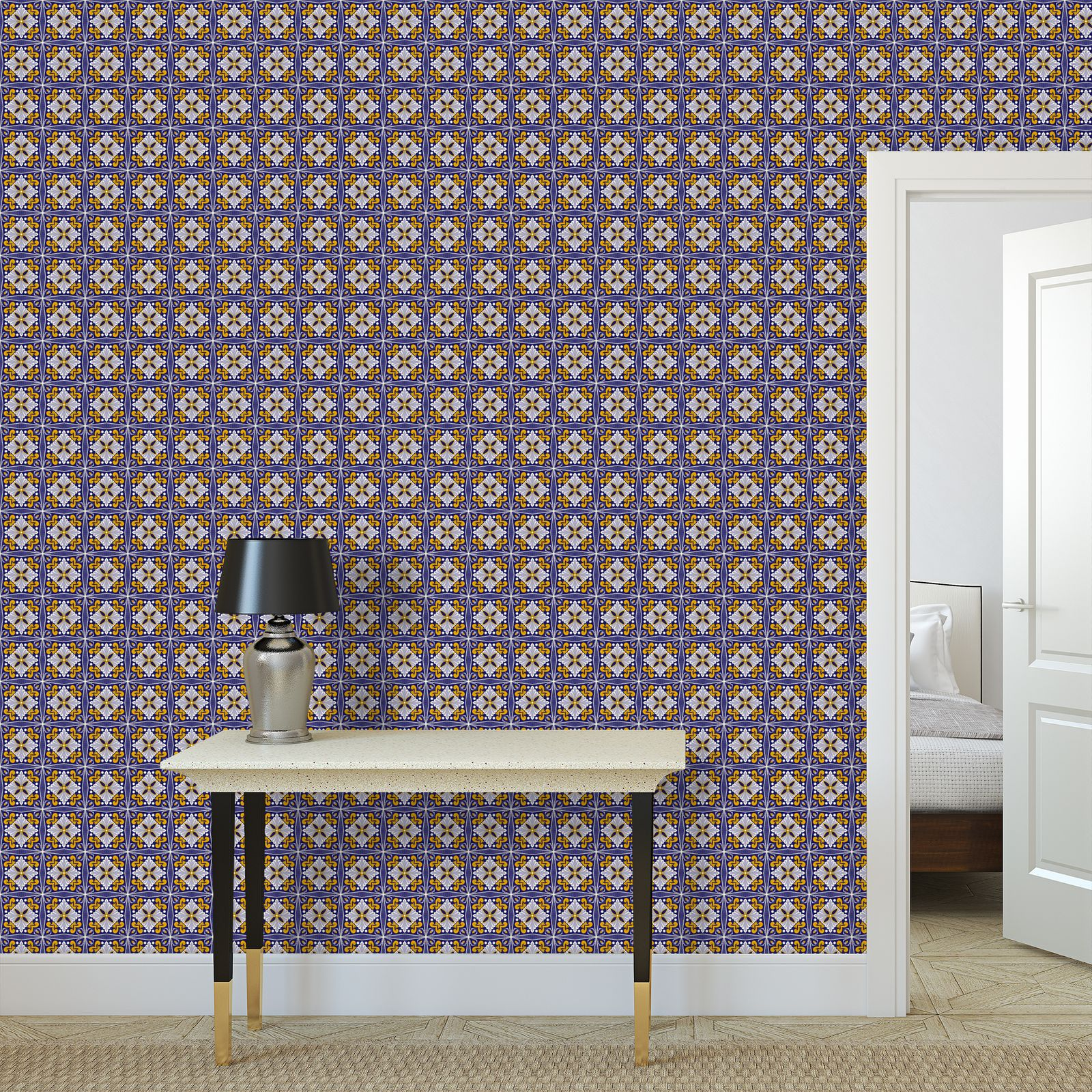 Moroccan Tile Repeat Pattern - #1