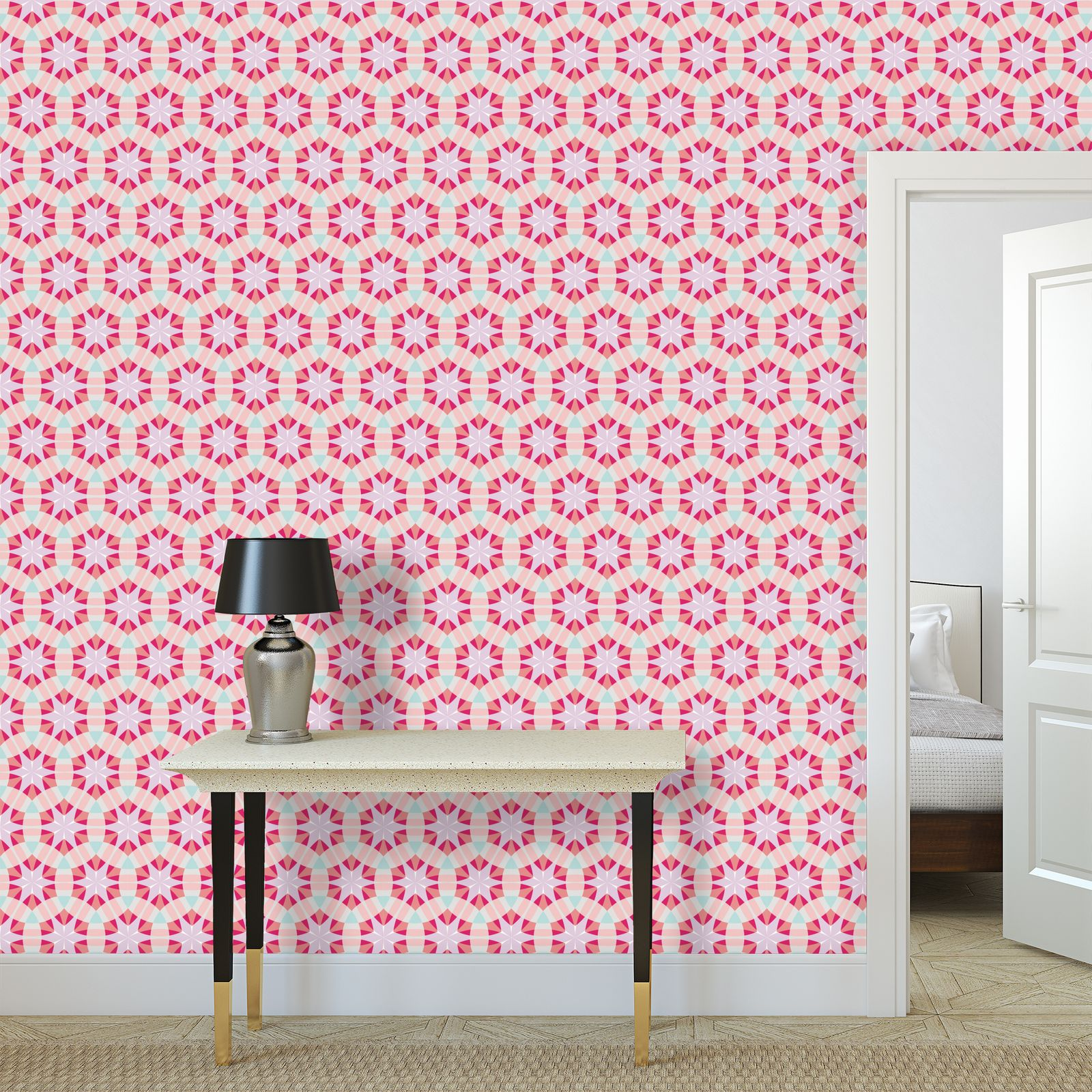 Wallpaper Rolls Shapes 3