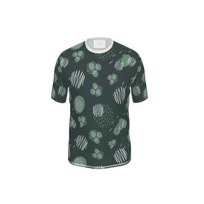 Mens Cut And Sew T-Shirt Pine Presence