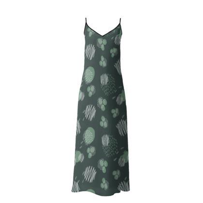 Slip Dress Pine Presence