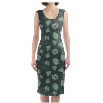 Bodycon Dress Pine Presence