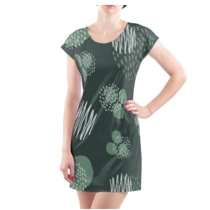 Ladies Tunic T Shirt Pine Presence