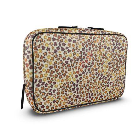 Leopard Skin Collection Mens Large Wash Bag