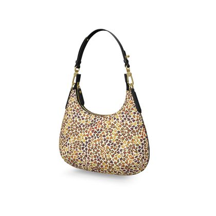 Leopard Skin Collection Mini Curve Bag