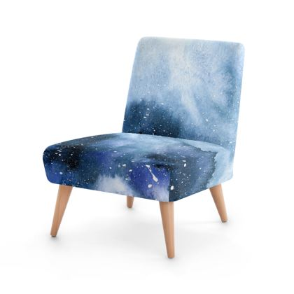 Ocean Bloom Occasional Chair