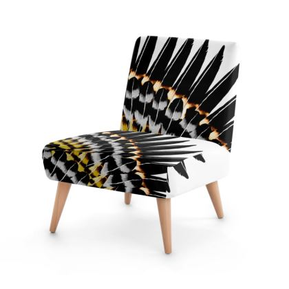 Feather Fringe Occasional Chair