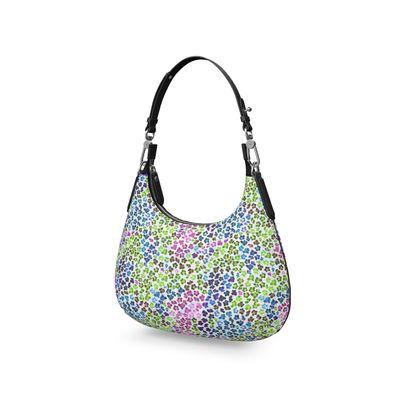 Leopard Skin Multicoloured Collection Mini Curve Bag
