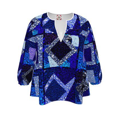 Elegante blusa linea Ricami