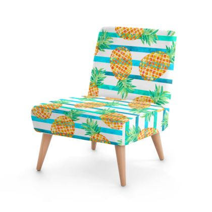 Pineapple Sea Stripes Occasional Chair