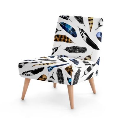 Bohemian Free Feather Occasional Chair