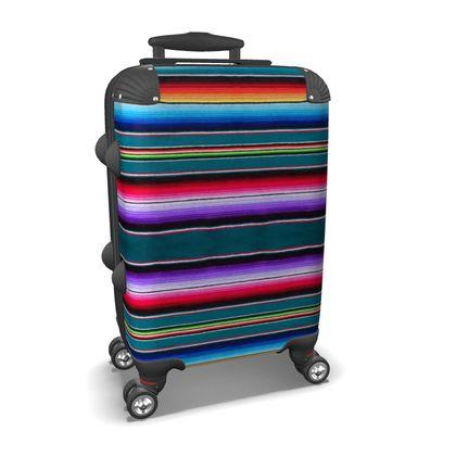 Carry-On Suitcase – Serape-Print #7