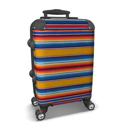 Carry-On Suitcase – Serape-Print #2