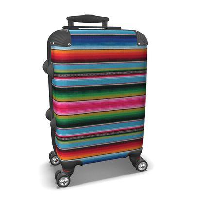 Carry-On Suitcase – Serape-Print #5