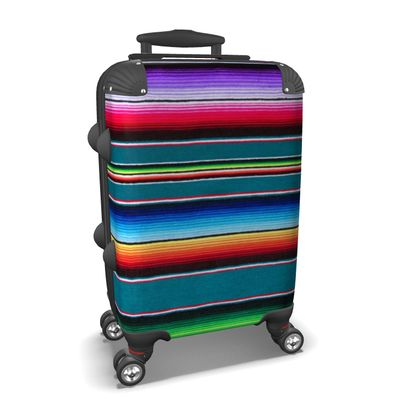 Carry-On Suitcase – Serape-Print #10